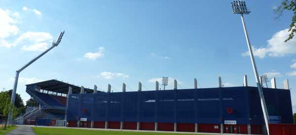 Exterior of Doosan Arena