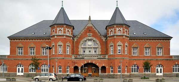 Esbjerg train station