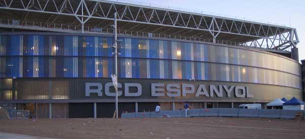 Exterior of Estadi di Cornella El Prat