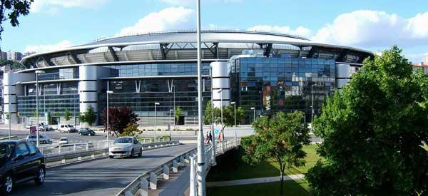 Exterior of Estadio Cidade de Coimbra