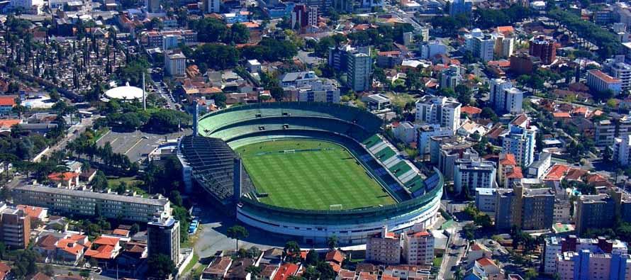 Aerial view of Estadio Couto Pereira