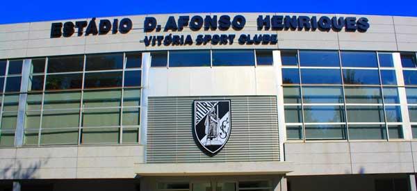 Main entrance of Estadio D A Henriques