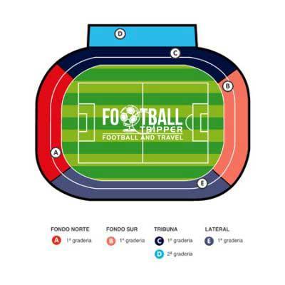 Estadio El Sadar seating plan