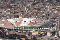 Aerial view of Estadio Garcilaso