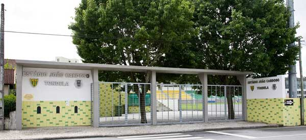 Entrance of Estadio Joao Cardoso