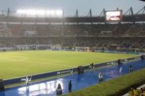 Inside Estadio Metropolitano De Baranquilla