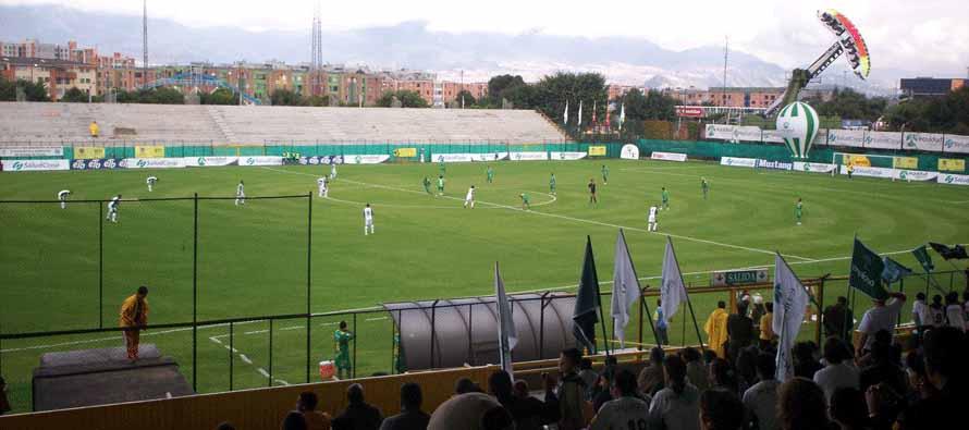 Estadio Metropolitano De Techo during a match