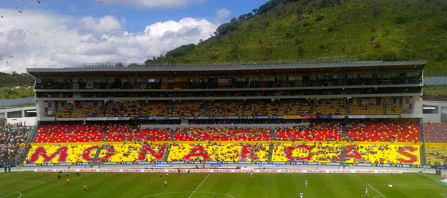 estadio morelos main stand