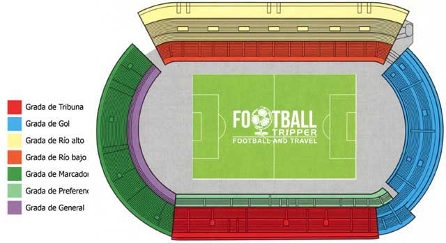 Estadio Municipal Balaídos celta vigo seating plan