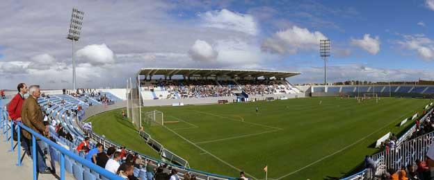 Inside Estadio Butarque