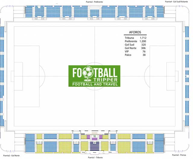 Estadio Municipal de Llagostera map