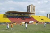 Estadio Olimpico Hermanos Ghersi Páez main stand