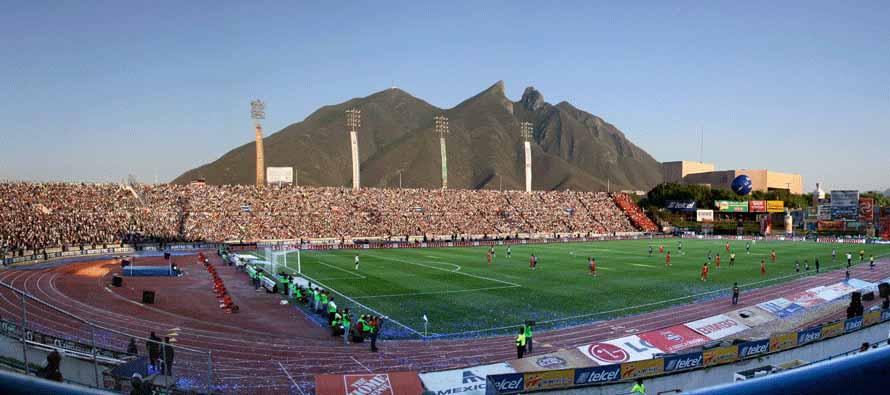inside estadio technologico matchday