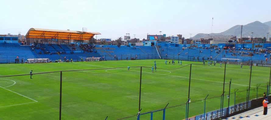Inside Estadio Alberto Gallardo