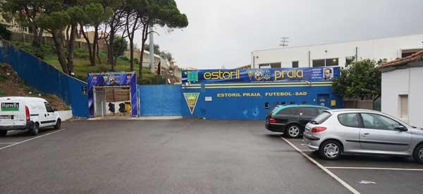 Entrance to Estadio Antonio Coimbra da Moto