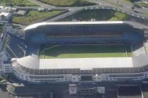 Aerial view of Estadio De Liga Deportiva Universitaria