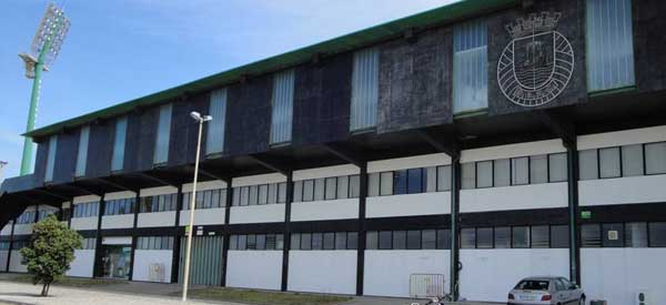 Exterior of Estadio do Rio Ave