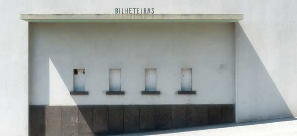 Ticket office at Estadio dos Barrerios