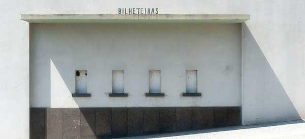 Ticket office at Estadio dos Barrerios