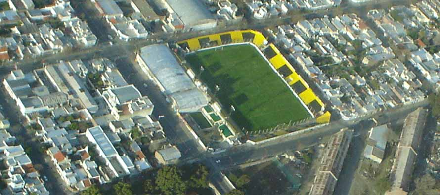 Aerial View of Estadio Roberto Natalio Carminatti
