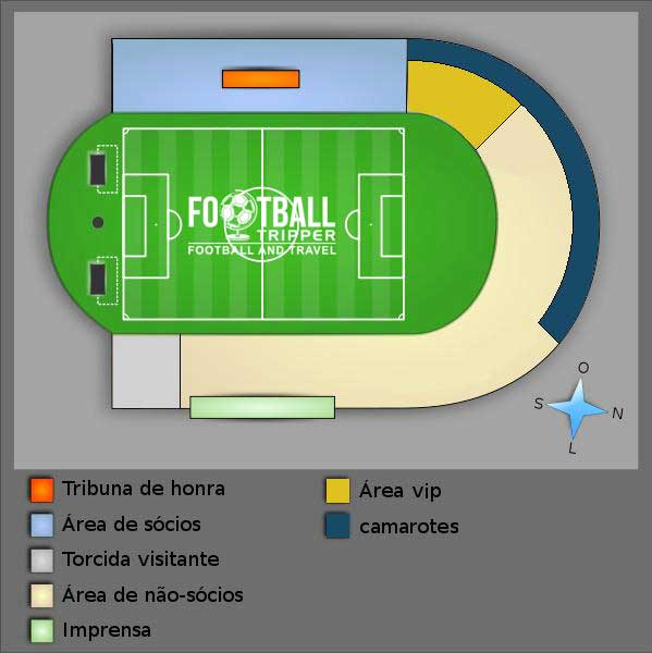 Estádio Vasco da Gama seating chart
