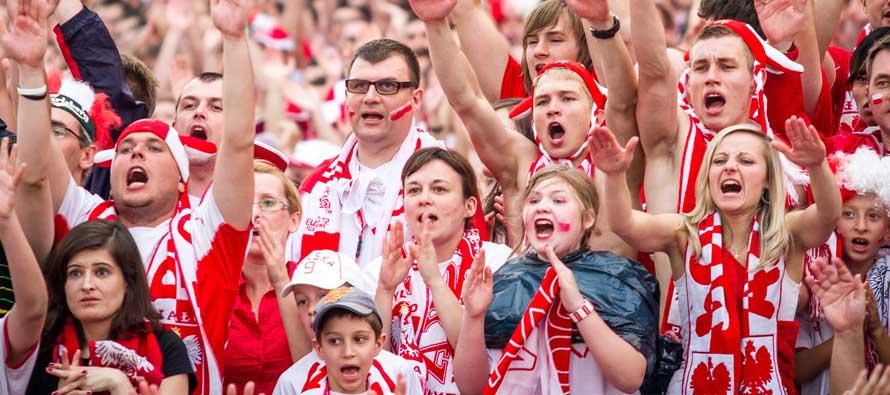 Polish Fans Euro 2012