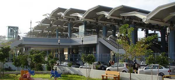 Exterior of Faliro Metro Station