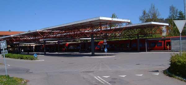 Exterior of Farum Station