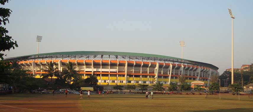 Exterior of Fatorda Stadium