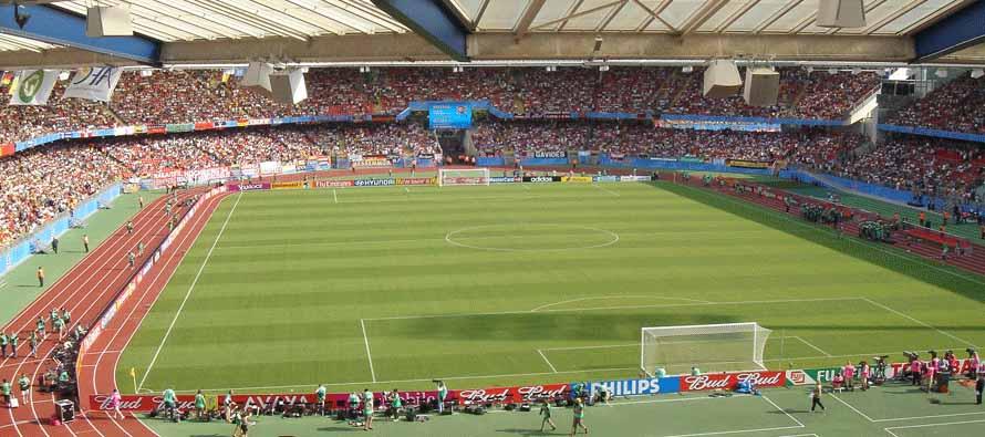 Inside Frankenstadion