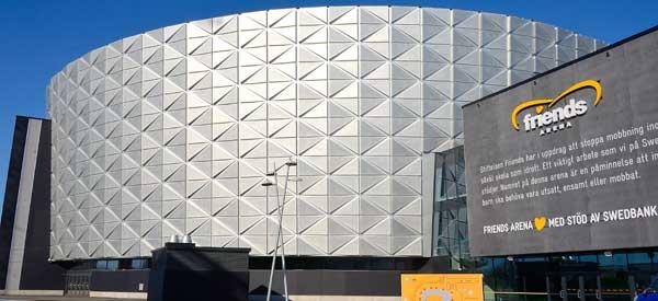 Friends Arena Entrance