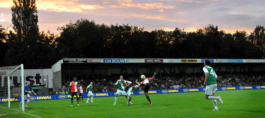 Ongoing match at GN Bouw Stadion