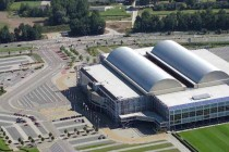 Aerial view of Gelredome
