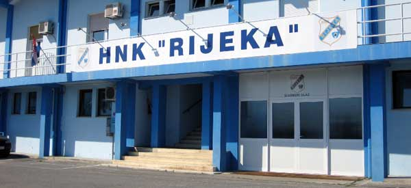Exterior of HNK Rijeka Kantrida club shop