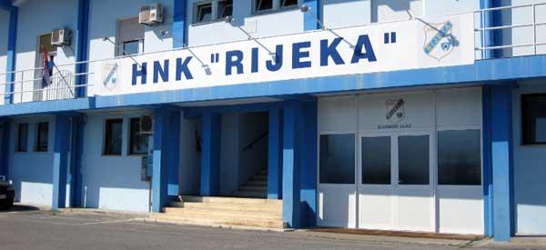 Exterior of HNK Rijeka Kantrida club shop