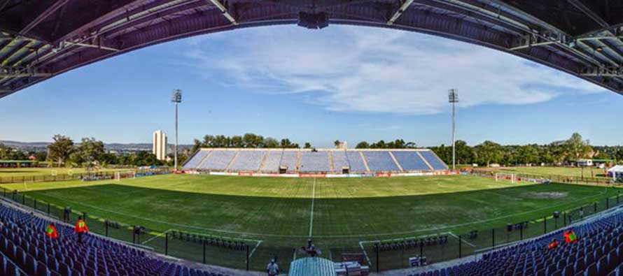 Interior of Harry Gwala Stadium