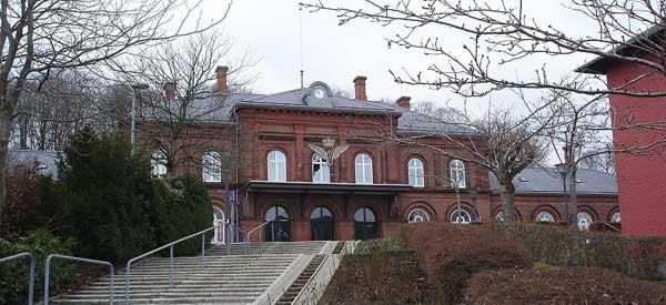 Hobro railway station