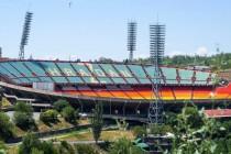 Aerial view of Hrazdan Stadium