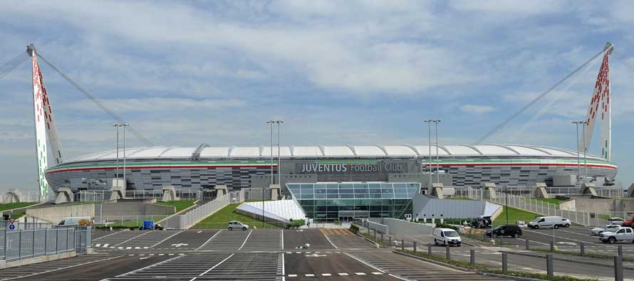 Exterior of Juventus Stadium