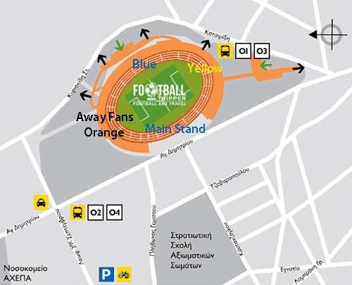 Kaftanzoglio Stadium seating plan