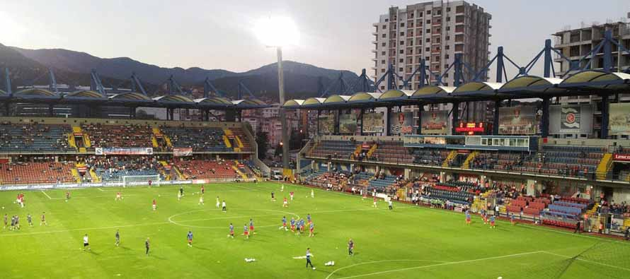 Inside Karabukspor Dr Necmettin Seyhoglu Stadyumu
