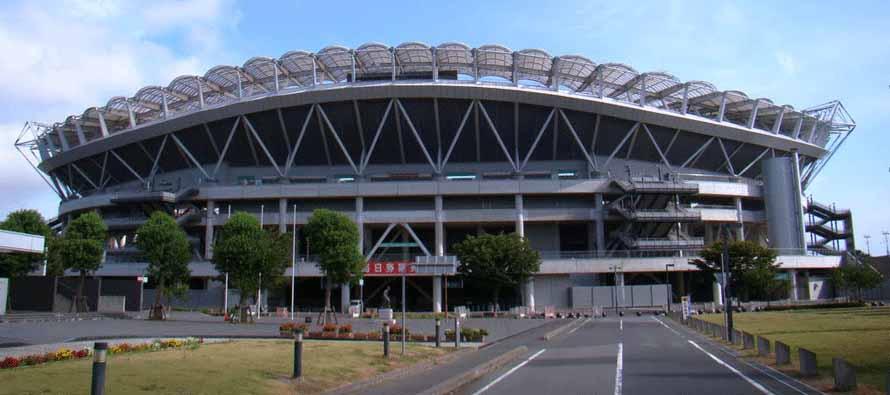 Exterior of Kashima Soccer Stadium