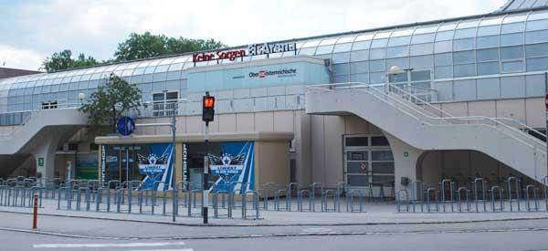 Exterior of Keine Sorgen Arena