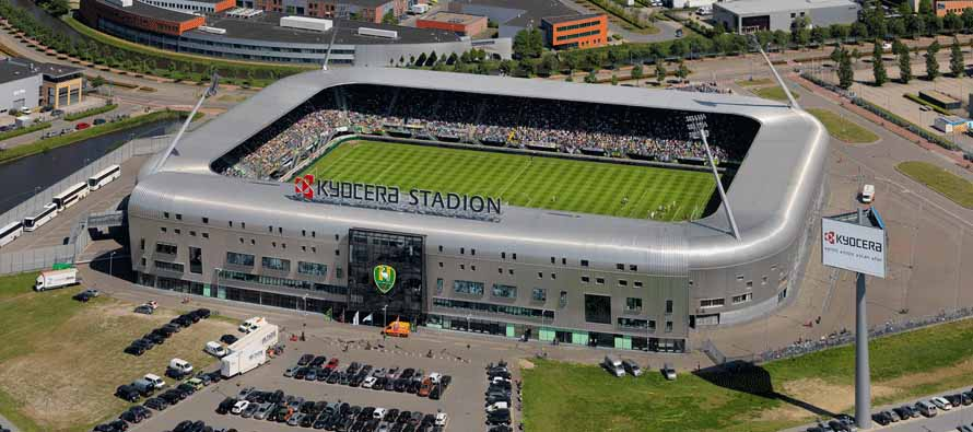 Aerial view of Kyocera Stadion