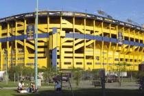 Exterior of La Bombonera