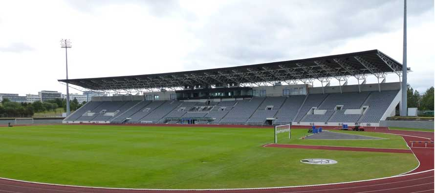 Inside Iceland's national stadium