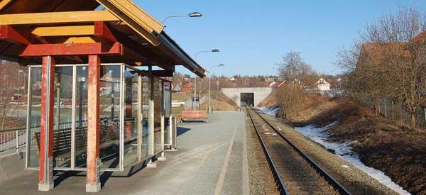 Lerkendal Railway Station