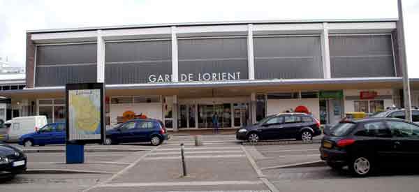 Lorient Railway Station