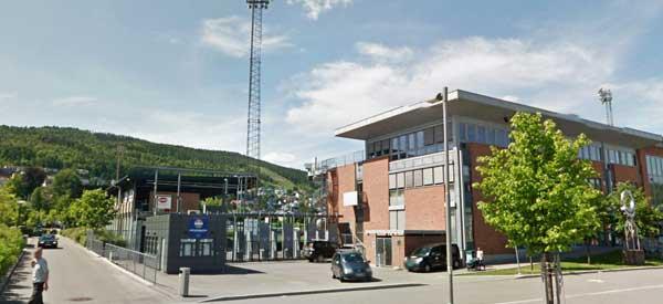Exterior of Marienlyst Stadium