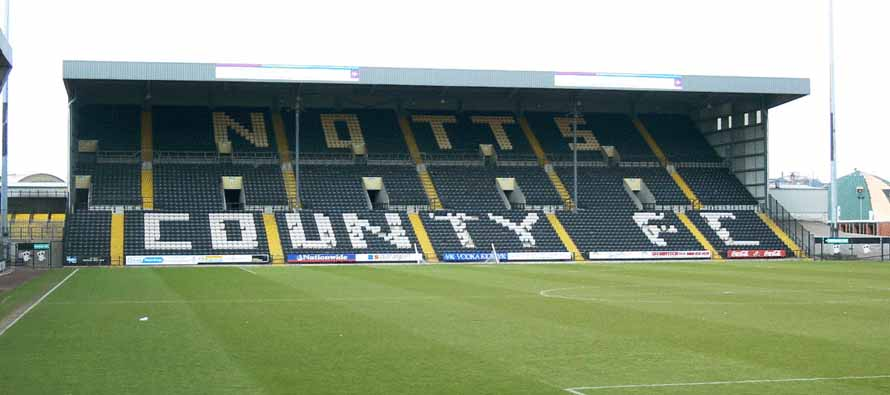 Meadow Lane Notts County Stand